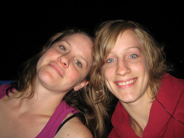 Jennifer and Rosanna