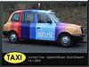 London Taxi in Ashurst vinyl wrap - East Dulwich - London - 14.1.2006