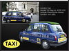London Taxi TX2  X239 VGC - Westminster - London - 16.9.2005