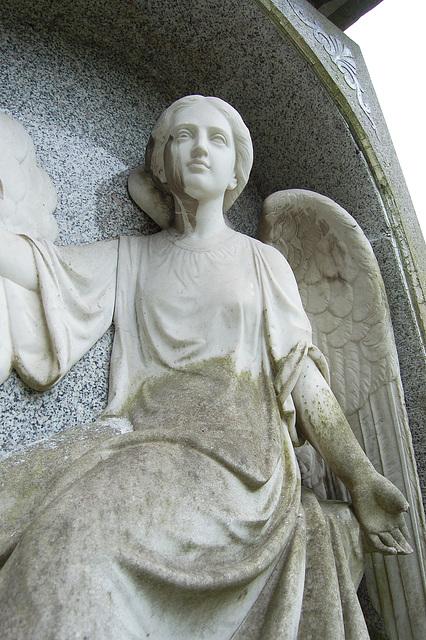 Memorial to Dorothea Heathcote, Leek Cemetery, Staffordshire