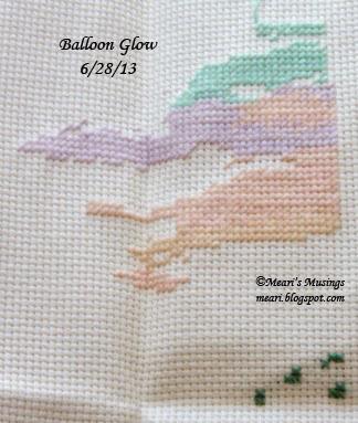 Balloon Glow 6/28/2013