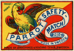 Parrot Safety-Match