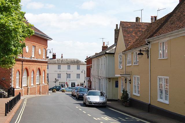 Shire Hall, Market Hill, Woodbridge, Suffolk