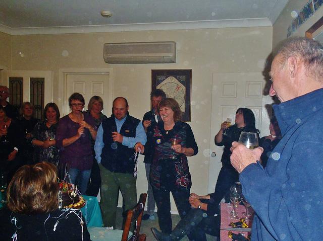 Pauline's 60th birthday party