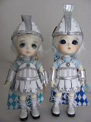 Snow soldiers Byurl and Pero