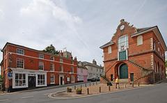 The Shire Hall, Market Hill, Woodbridge, Suffolk