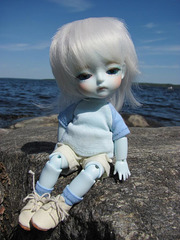 Pyry at a lake