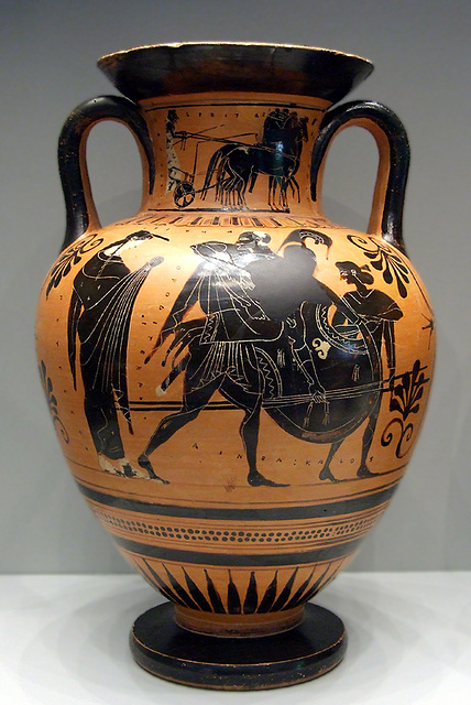 Ipernity  Amphora With Aeneas Carrying Anchises In The