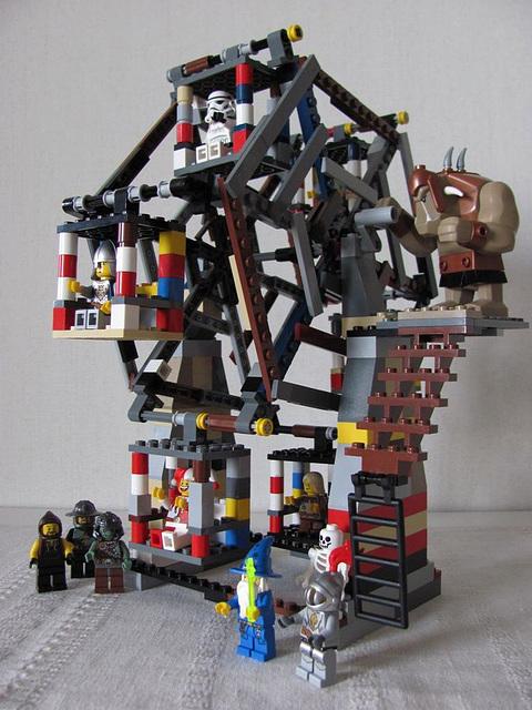 Lego Ferris Wheel (Medieval carnival 1)