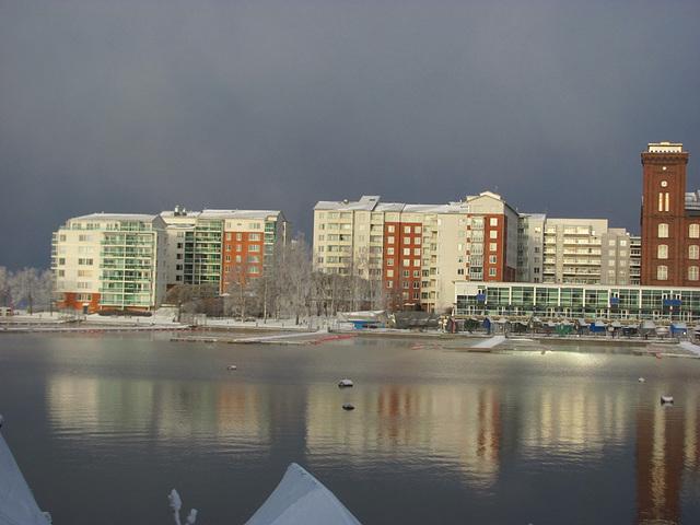 Lapinniemi in winter light