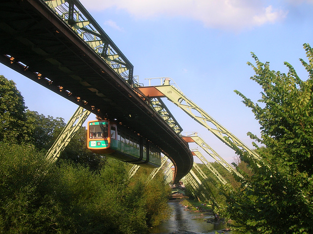 Wuppertal trame suspendue