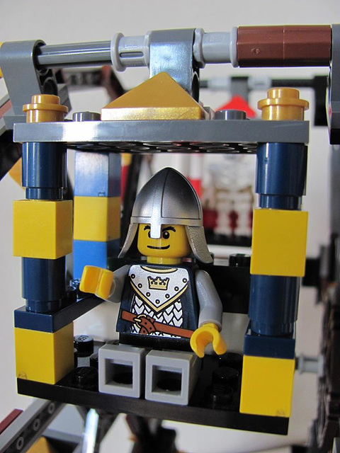 Blue and yellow gondola (Medieval carnival 8)