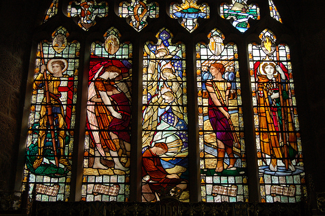 East Window, Christ Church, Lea, Derbyshire