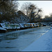iced canal at Jericho