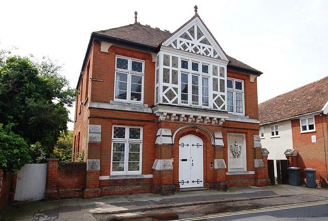 Victorian Dispensary , Seckford Street, Woodbridge, Suffolk
