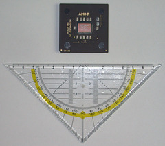 Athlon 800 vs. ruler