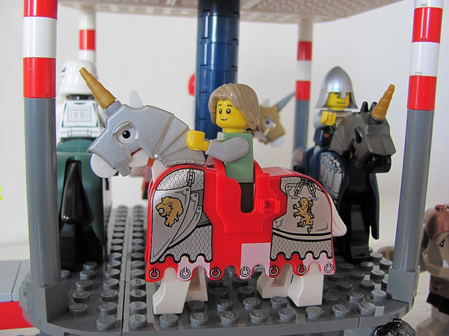 Carousel horse 1 (Medieval carnival 10)
