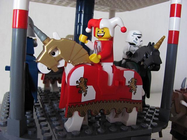 Carousel horse 2 (Medieval carnival 11)