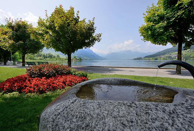 Au bord du lac de Sarnen...