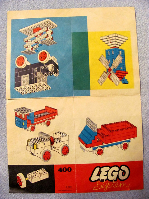 Old Lego leaflet from the 1960s