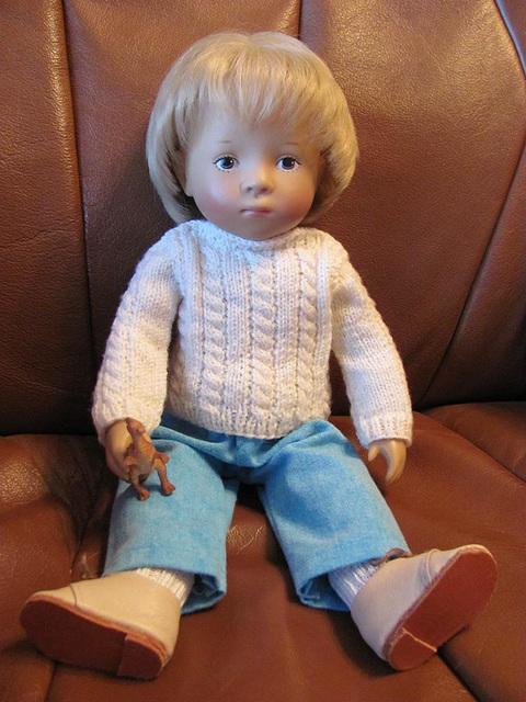 Ralf watching TV