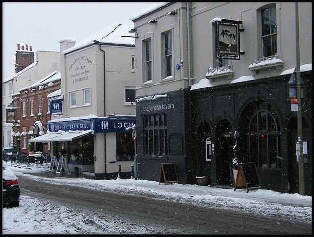 winter in Walton Street