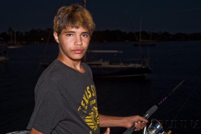 Fishing at The Bay