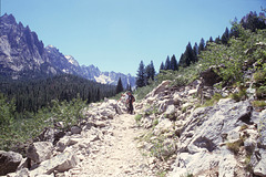 Hiking in the Sawtooths