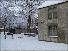 snow at Mount Place