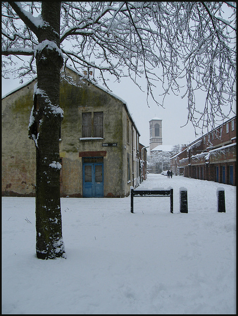 snow in Mount Place