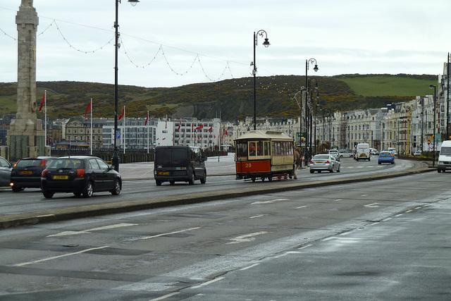 Isle of Man 2013 – View of the Douglas promenade