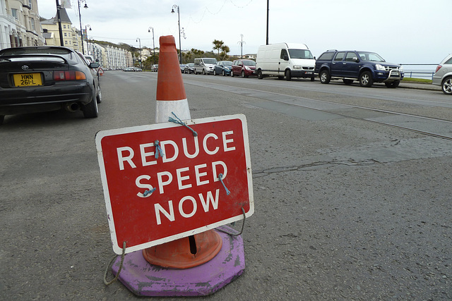 Isle of Man 2013 – Reduce Speed Now