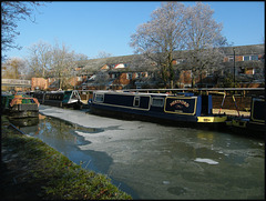 Jericho canalside in winter