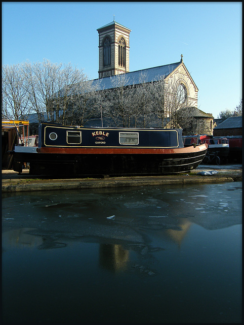 St Barnabas in winter