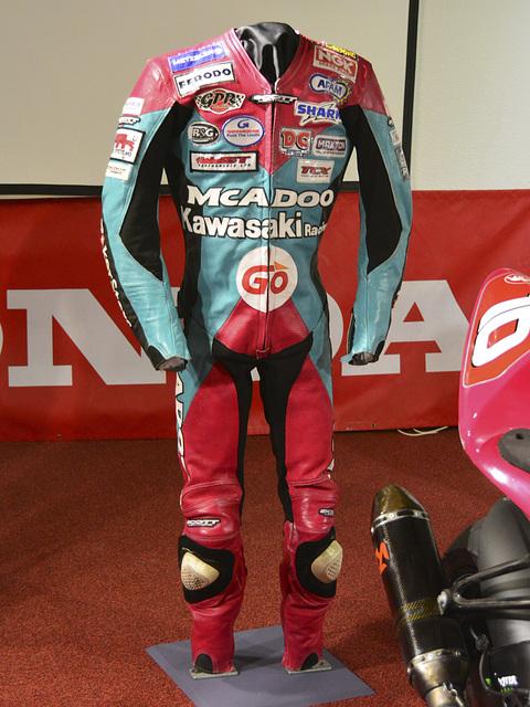 Isle of Man 2013 – Motorcycle suit