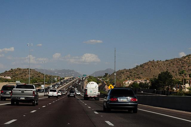 Ankunft in Phoenix