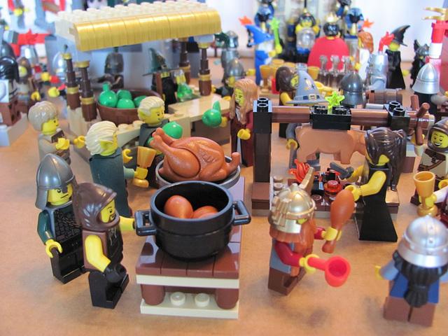 Food area (Medieval carnival 33)