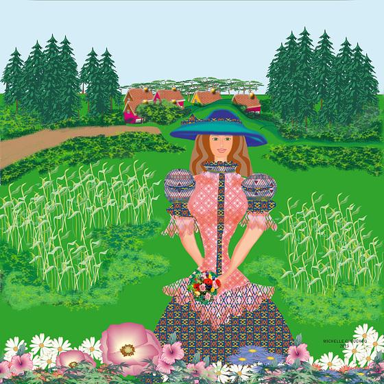La chica del campo
