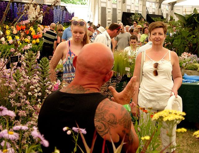 Hampton Court Flower Show Digilux 2 Tattoos