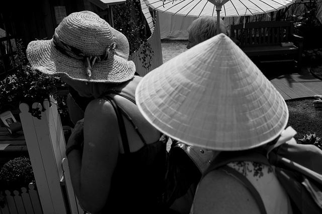 Hampton Court Flower Show Ricoh GR Hats