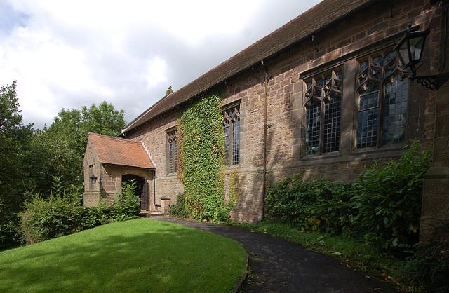 Christ Church, Lea, Derbyshire