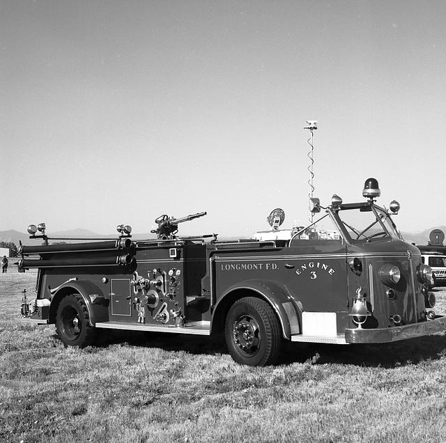 Longmont Fire Department antique truck