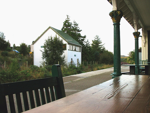 Plockton station and bunkhouse