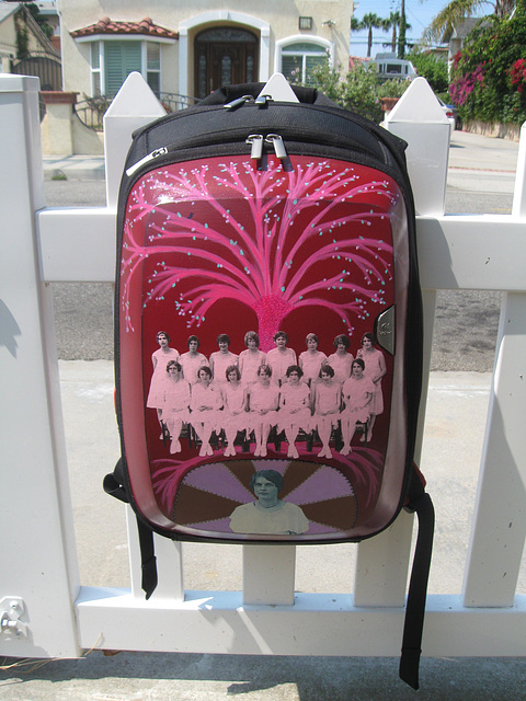 Custom backpack 1