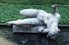 The River by Aristide Maillol in the Museum of Modern Art Sculpture Garden, May 2007