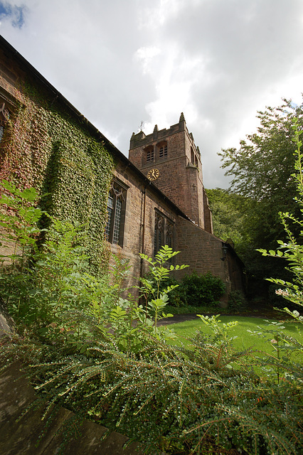 Christ Church, Lea, Derbyshire