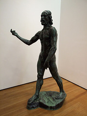 St. John the Baptist Preaching by Rodin at the Museum of Modern Art, July 2007