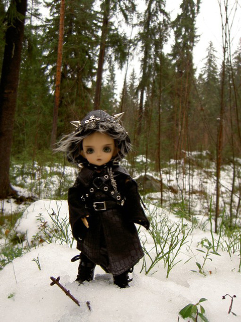 Deimos and first snow