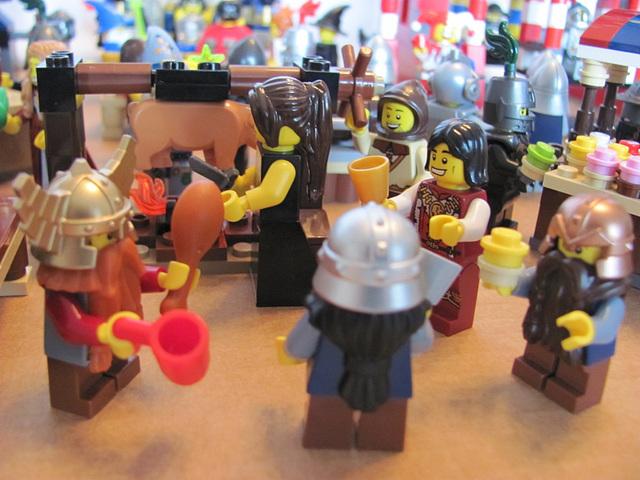 Hog roast (Medieval carnival 37)