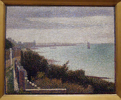 Grandcamp, Evening by Seurat in the Museum of Modern Art, July 2007